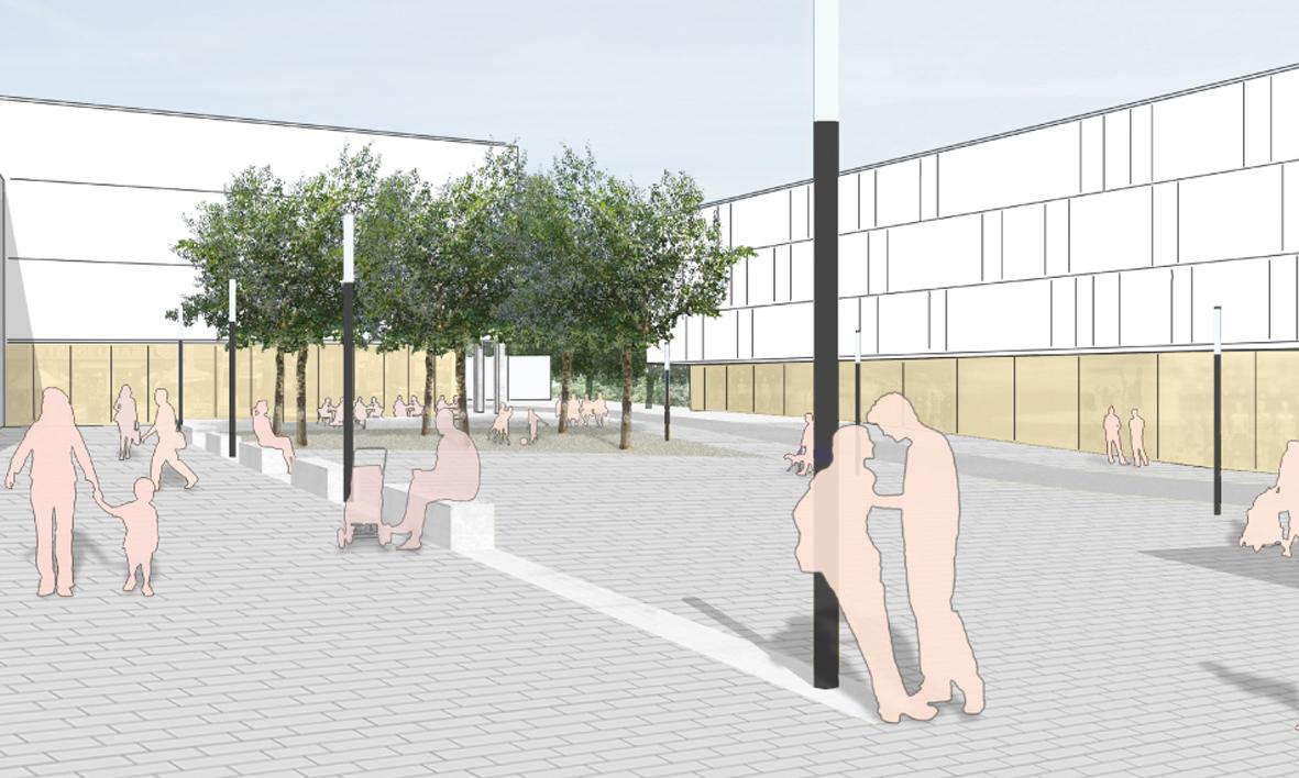 Jahnplatz Platzgestaltung