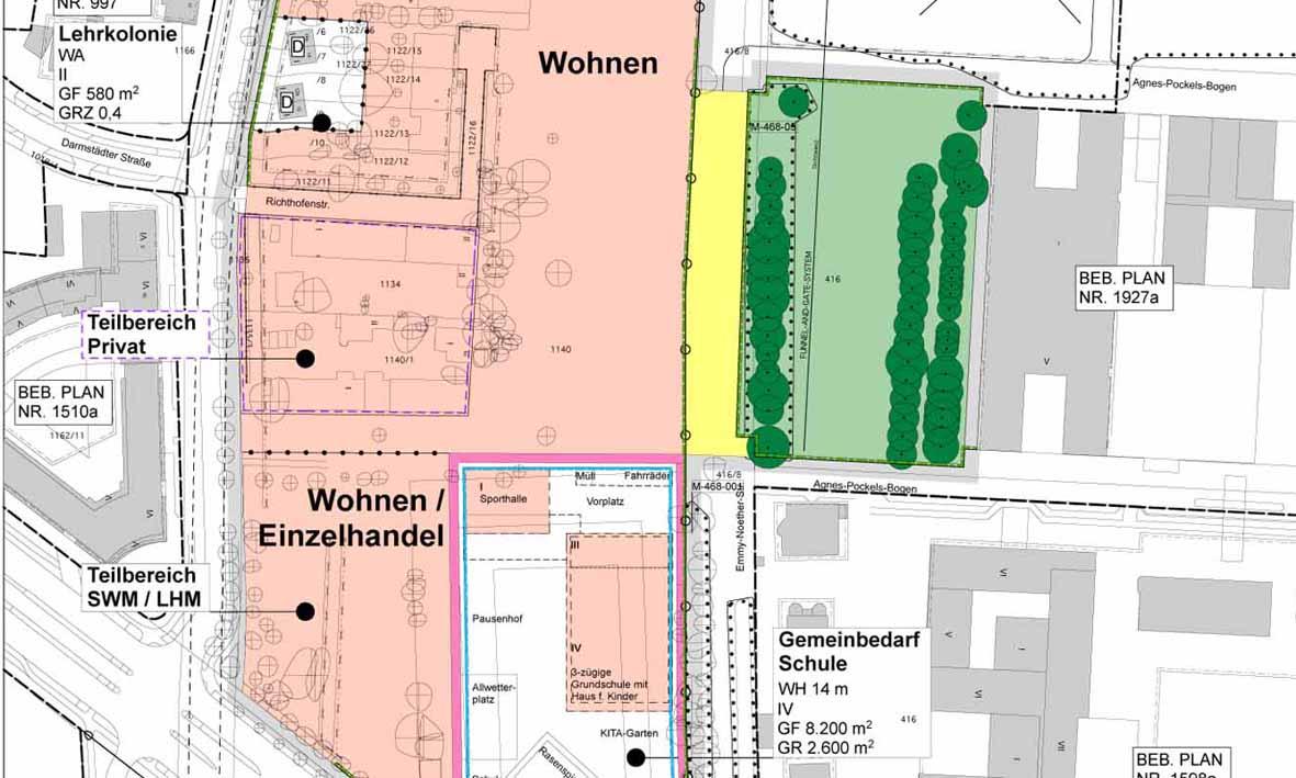Bebauungsplan München Wohnen
