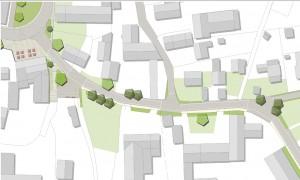 Straßengestaltung Ortsmitte